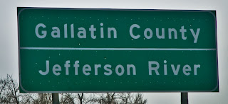 Gallatin County Sign