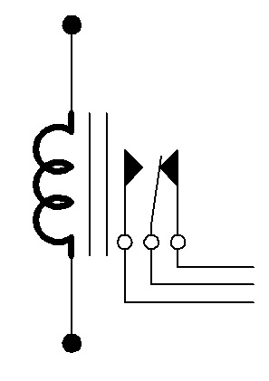 Famous Electrical Relay Symbol Vignette - Electrical Circuit Diagram ...