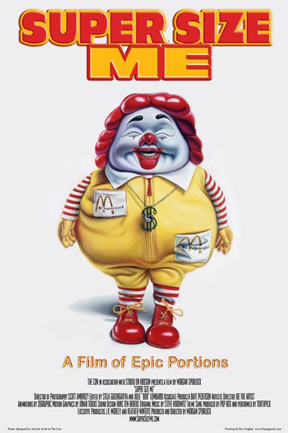 Super Size Me – A Dieta do Palhaço  Download Filme