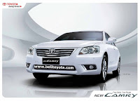 Brosur Toyota All New Camry 2010