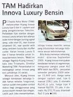 TAM Hadirkan New Kijang Innova Luxury Bensin