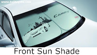 aksesoris camry: Front Sun Shade