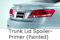 aksesoris camry: Trunk Lid Spoiler-Primer (Painted)