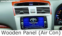 aksesoris camry: Wooden Panel (Air Con)