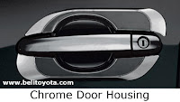 toyota hilux: chrome door housing