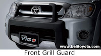 toyota hilux: front grill guard