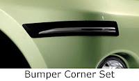 toyota avanza: bumper, corner, set