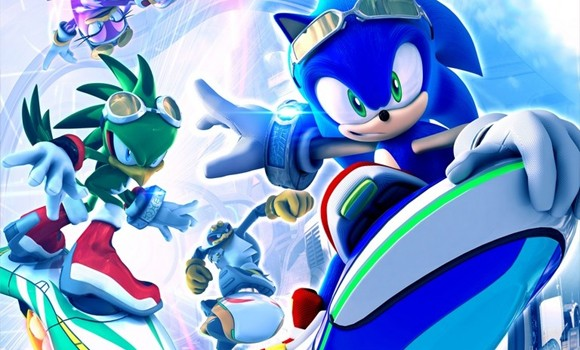 Console gaming sonic free riders kinect game review