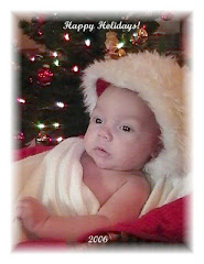 Christian's first Christmas 2006