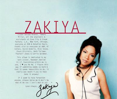 Zakiya - Love Like Mine