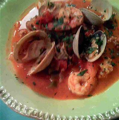 Italian Mussel Soup