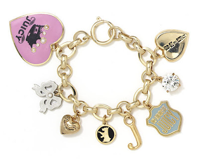 Juicy Couture Butterfly Charm Bracelet