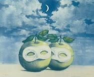 """La pretre marie"" by Rene Magritte"