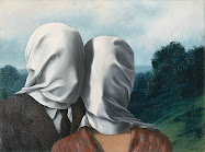 """The lovers""(Magritte)"