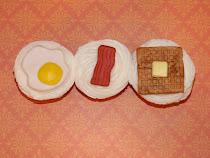 Tah Dah... Breakfast Cupcakes!