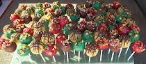 Harvest Festival cake pops