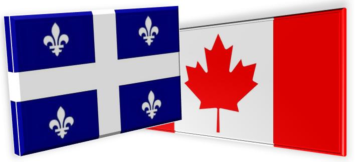 Tout ce que vous désirez connaitre sur le Québec et le Canada... Drapeau+commun