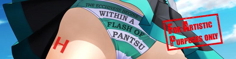 Within a Flash of Pantsu