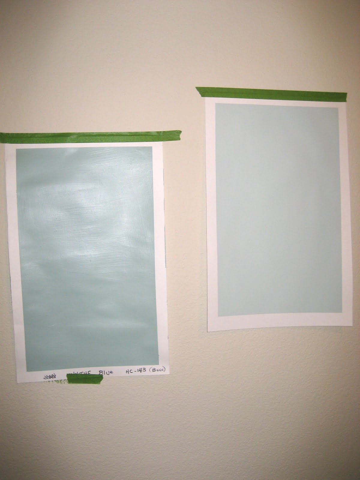 Snozberries: An easy way to test paint samples on your walls