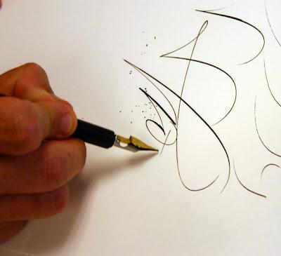 Roann Mathias Calligraphy July 2008