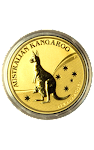 Aust Kangaroo Gold Coin 1 oz