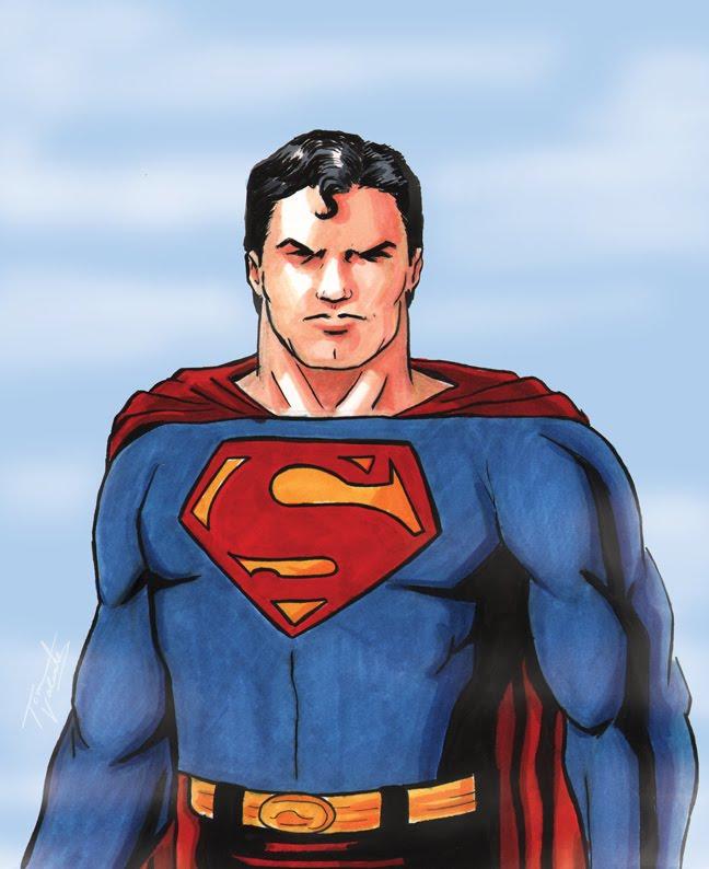 Süperman Boyama Oyunu