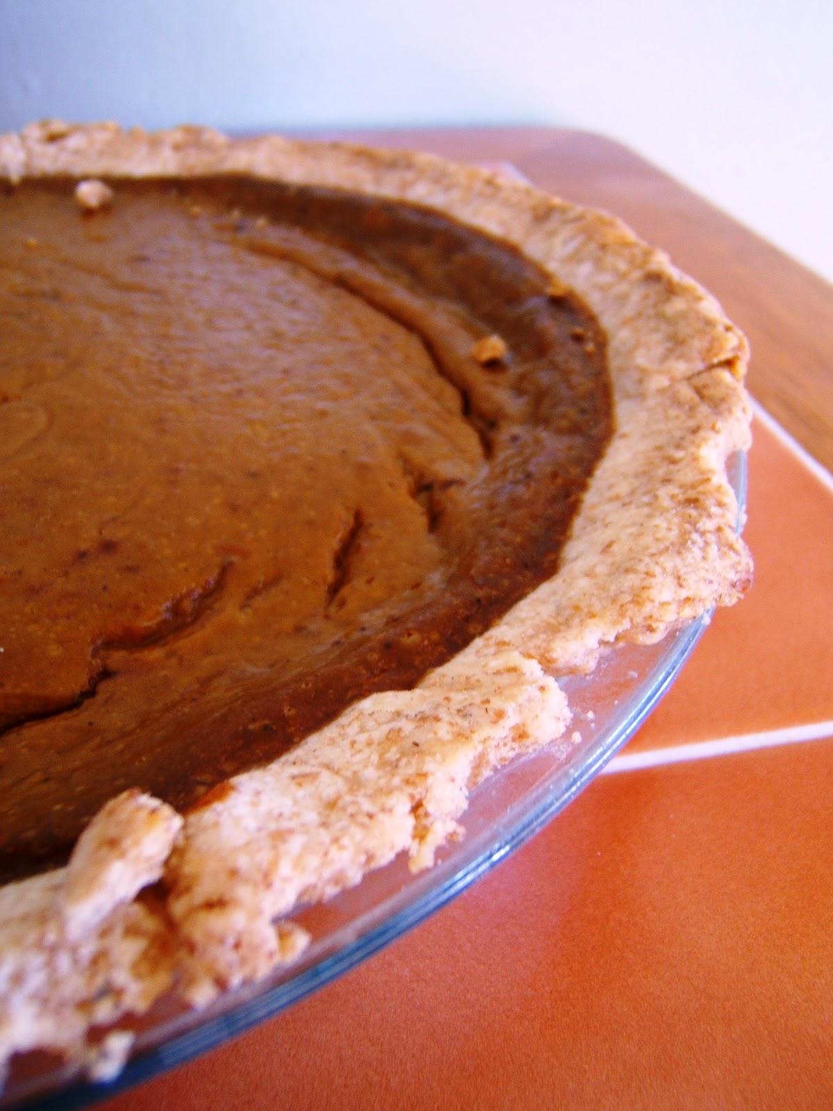 Spice-Kissed Pumpkin Pie