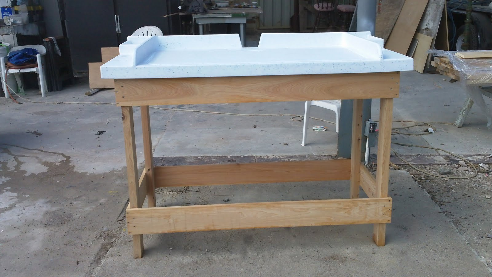 Diy fish cleaning station all the best fish in 2018 for Homemade fish cleaning table