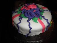 Very First Fondant Cake