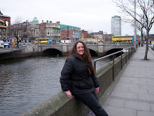 JennJam bundled up in Dublin . . .