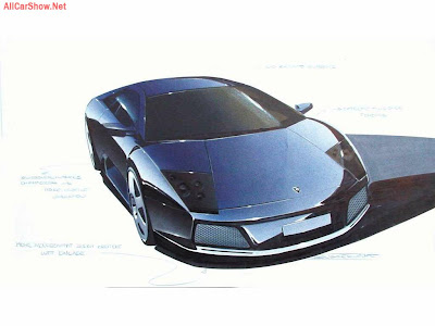 Sketches Lamborghini on Lamborghini Murcielago Sketch 2002 1024x768 Wallpaper 03 Jpg