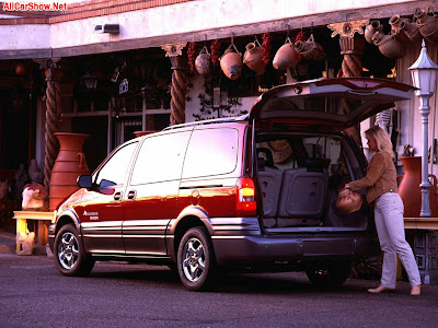 2003 Pontiac Montana Thunder Trends Car