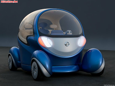 2002 Nissan Yanya Concept. 2007 Nissan Pivo 2 Concept