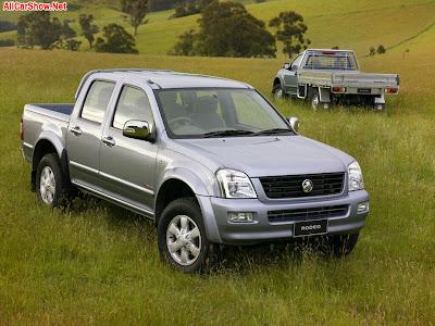 2006 Holden HFV6 Rodeo