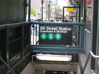 86th Street Station, 4, 5, and 6 trains