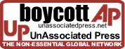 boycott AP, unassociatedpress.net: The non essential global network