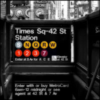 Times Square subway entrance