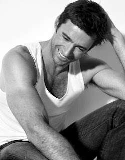 hugh jackman looking even more adorable than usual