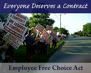 everyone deserves a contract - employee free choice act