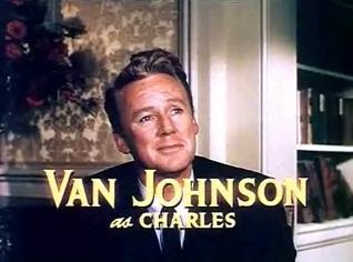 Van Johnson publicity photo from The Last Time I Saw Paris