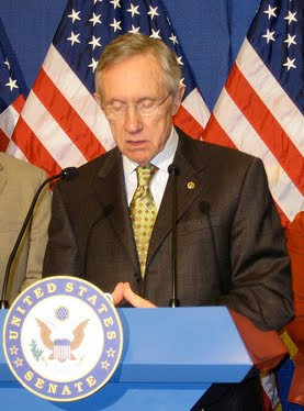 Reid looking weak and pathetic