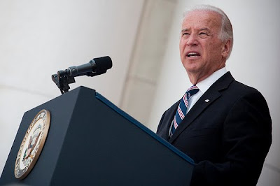 Biden looking angry and spaced out