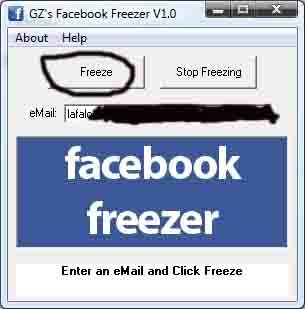 facebook,freezer,facebook freezer,account facebook