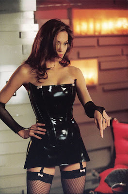 Black Leather Dress on That S How Much The Long Black Leather Gloves Can Transform A Dress