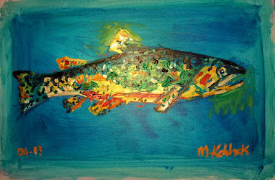 Painting Of A Fish