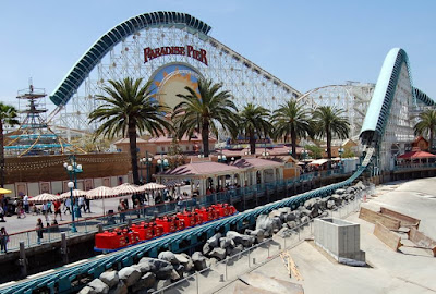 California Screamin' Roller Coaster