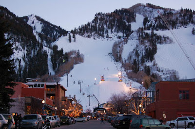 Aspen Winter Dusk Hunter Street