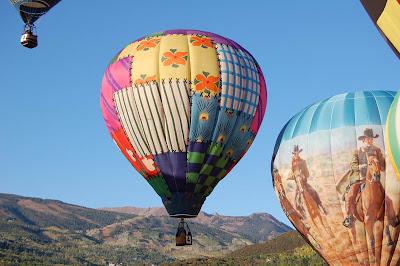 Hot Air Balloons In Colorado