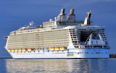 Oasis Of The Seas Latest Photo - Sea Trials