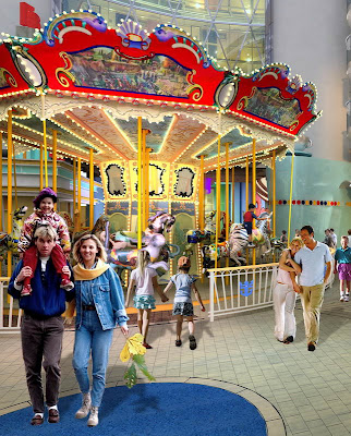 Carousel On Oasis Of The Seas